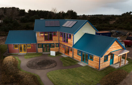 West Whins co-housing construction finished