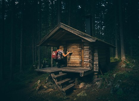 tiny house in the woods cheap&sexy