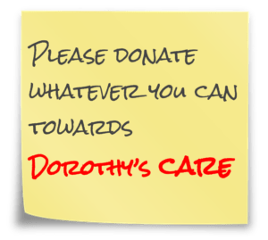 £3,000/month ongoing for Dorothy's care